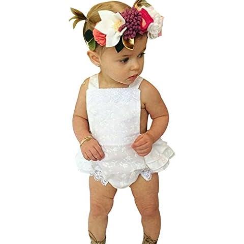 IGEMY - Combinaison - Bébé (fille) 0 à 24 mois - blanc -