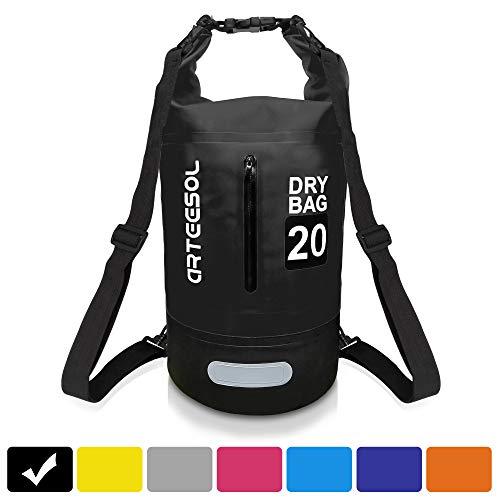 100% Wasserdicht Dry Bag, IP66 5L / 10L / 20L / 30L Rucksack Mit Taille Schnallen Zum Strand Schwimmen Oder Wandern - Schützen iphone Kamera Dokument aus Wasser und dchmutz (10L) - Wasserdicht Schwimmt