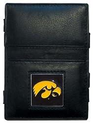 NCAA Iowa Hawkeyes Leather Jacob's Ladder Wallet