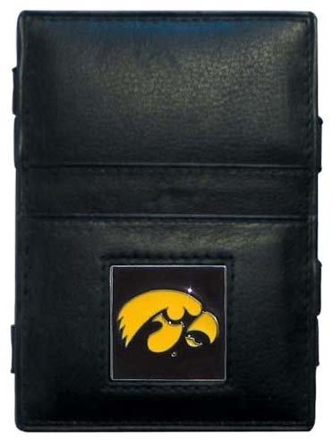 Siskiyou NCAA Jacob's Ladder Geldbörse aus Leder, Iowa Hawkeyes - Iowa Leder
