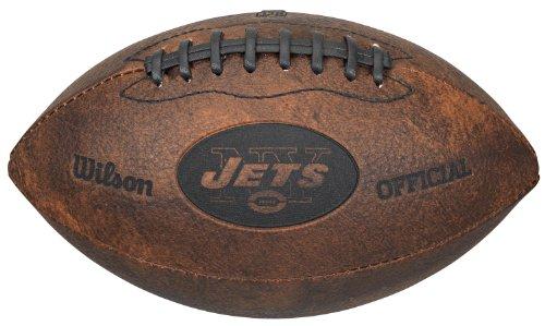 Gulf Coast Sales NFL Vintage Throwback Fußball, 22,9 cm, Spielzeuge und Schuhe, New York Jets