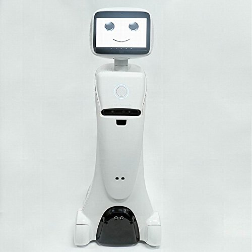 Amy robótica telepresencia y autónoma Servicio Robot-WiFi-Speech interacción