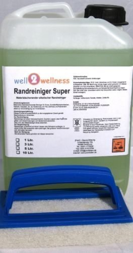 Schwimmbadreiniger / Poolreiniger - Randreiniger Super 3,0 l + Reinigungspad