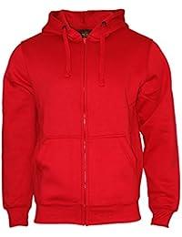 a75b87e8b442 Rock-It Herren Zipper Hoodie Kapuzen Sweater Jacke Workerhoodie Pullover in  Größen XS-5XL