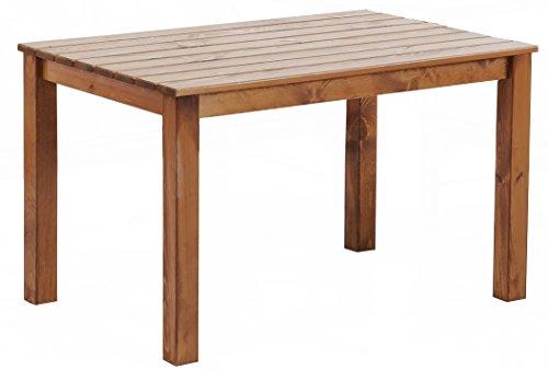 floristikvergleich.de Ambientehome Tisch OSLO, 116 x 77 x 70 cm, braun