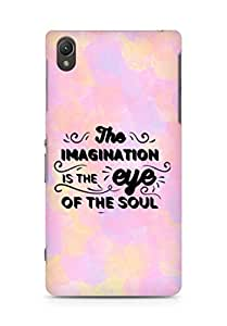 Amez The Imagination is the Eye of the Soul Back Cover For Sony Xperia Z2