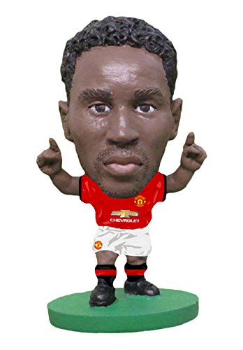 SoccerStarz SOC1165 Man Utd Romelu Lukaku 2018 Version Home Kit Figures