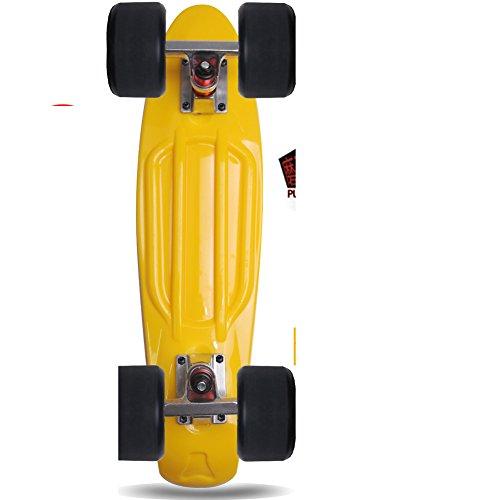 Ampio tondo piatto di pesce/72Bortolus scrub/Viaggi curling spazzola piatti di pesce Street/Skateboard bambini adulti quattro ruote-H