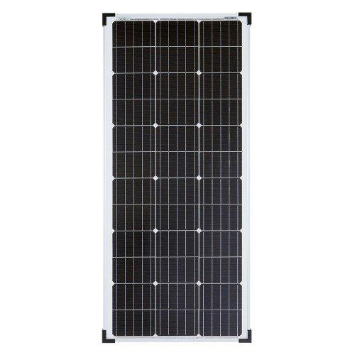 Offgridtec Mono Solarpanel – Solarmodul Solarzelle Photovoltaik, 100 W, 12 V, 001245 - 2