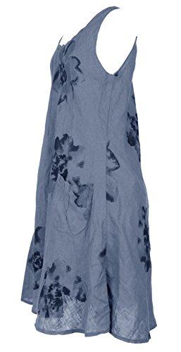 Generic -  Vestito  - Senza maniche  - Donna Cornflower Blue
