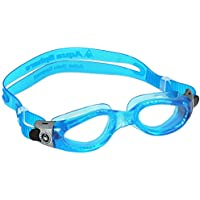 Aqua Sphere Kaiman Swim Goggle - Blue Frame Great for Swimming and Water Sports