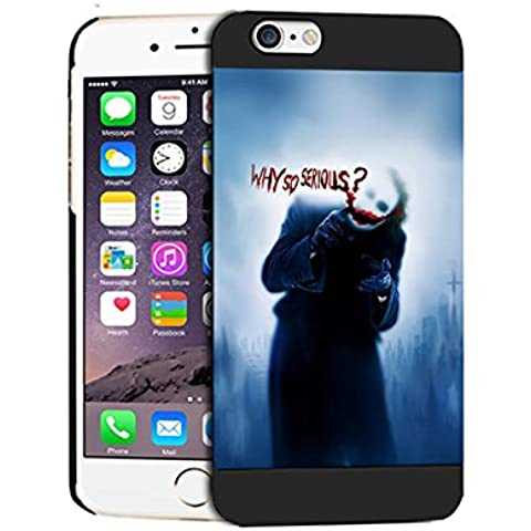 Joker Smile Why So Serious Difficile Iphone 6 / 6S (4.7 Inch) Case Cover For Uomini Iphone 6 (4.7 Inch) Joker Smile Why So Serious - [ DC Comics ] Cabina telefonica CustodiaCase, Joker Smile Why So Serious Durevole Custodia Protettiva
