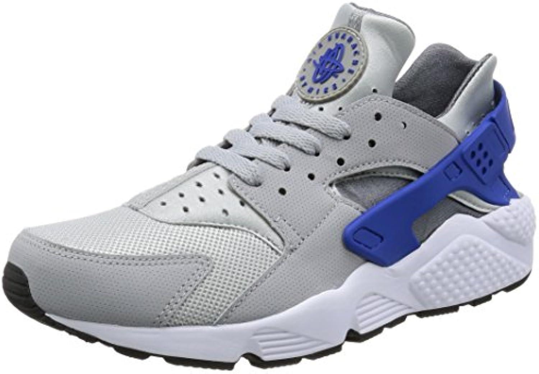 Nike Air Huarache Wolf Game Royal Dark Grey, Zapatillas de Deporte para Hombre