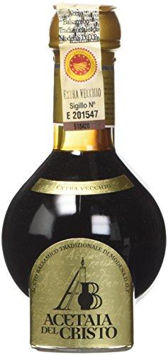 Acetaia del Cristo PEP-EE Aceto Balsamico Tradizionale di Modena DOP Extravecchio con dosatore - 100 ml