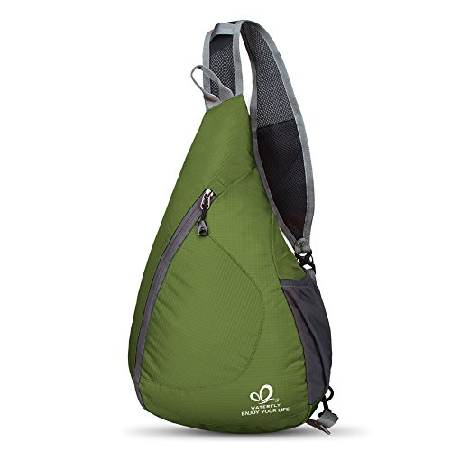 b1d26fa7c07d WATERFLY Packable Shoulder Backpack Sling Chest Sport Hiking Bag ...