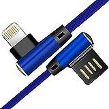 YooGoal New Gomito Cavo Tipo C [2 Pezzi], Doppio 90 Gradi e Double-Face C Cavo USB Caricabatterie Sincronizzazione Dati (6.6FT 1.5M Blue)