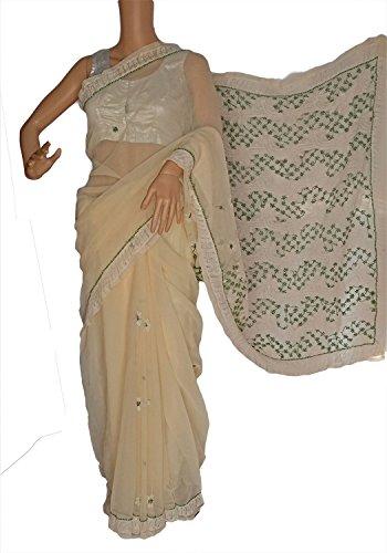 Fashion Fabric Chikankari Saree