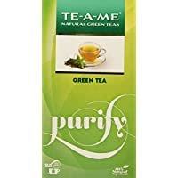 TE-A-ME Green Tea, Natural Green Tea, 25 Tea Bags
