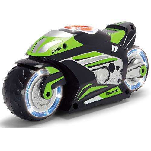 #1018 Spielzeugmotorrad Kawasaki Ninja mit Licht und Sound, fährt Vor- Rückwärts • Music Bike Spielzeug Motorrad Fahrzeug für Kinder Sound (Motorrad Ninja Kawasaki)