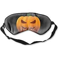 Schlafmaske aus natürlicher Seide, Augenbinde, super glatte Augenmaske (Happy Halloween) preisvergleich bei billige-tabletten.eu