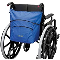 Ability Superstore - Bolsa para silla de ruedas, 41 x 36 x 18 cm, color azul