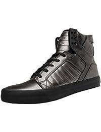 Supra , Baskets pour Homme Argent Gunmetal/Black