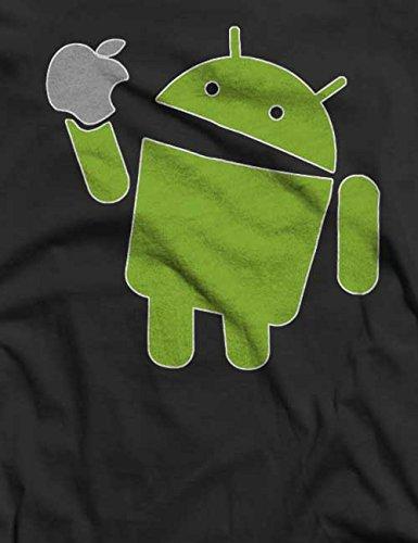 Android T-Shirt S-XXL 12 Farben / Colours Grau