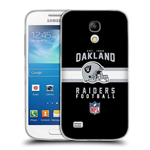 fizielle NFL Helm-Buchdruckerkunst 2018/19 Oakland Raiders Soft Gel Hülle für Samsung Galaxy S4 Mini I9190 ()