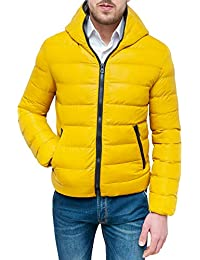 low cost 04485 f7418 Amazon.it: piumino uomo - Giallo: Abbigliamento