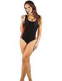 SK0020 STANTEKS Damen Badeanzug mit Schwimmerrücken Schwimmanzug Schwimmanzüge