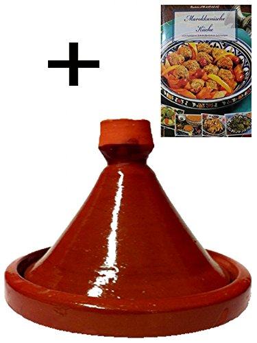 Juego-de-2-tajn-marroqu-Tagine-para-cocinar-ferhan-Dimetro-30-cm-marroqu-Cocina-libro-de-cocina