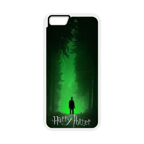 Deathly Hallows coque iPhone 6 Plus 5.5 Inch Housse Blanc téléphone portable couverture de cas coque EBDXJKNBO10956