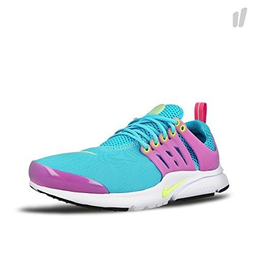 Nike Presto (Gs), Chaussures de Sport Fille Bleu - Azul (Azul (Gmm Bl / Ghst Grn-Pnk Blst-Blck))