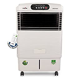 Kenstar JetCool RE 60-Litre Air Cooler (White) with Remote