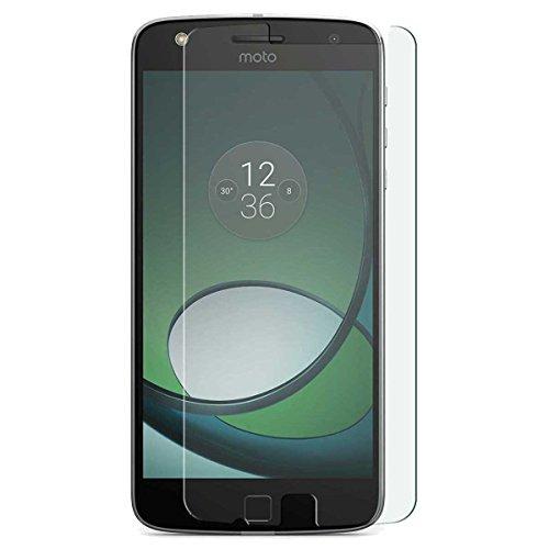 Motorola Moto Z Play - 3x Ultra-klar Displayschutz Panzerglas Gehärtetem Glas Folie mit Härtegrad 9H Hartglas Panzerglasfolie