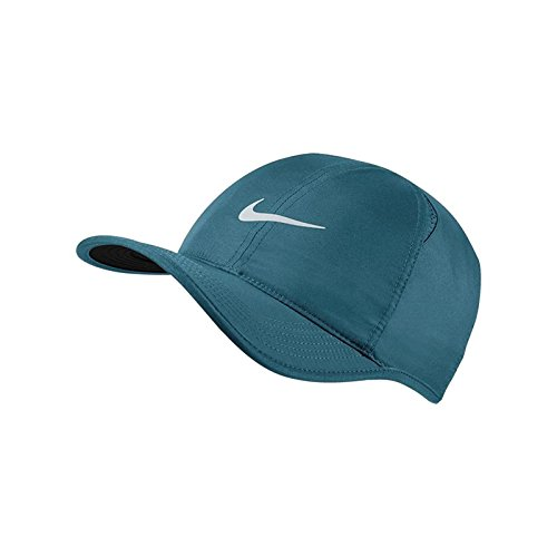 Nike Arobill Featherlight Casquette Homme, Green Abyss/Black/PU, FR Fabricant : Taille Unique