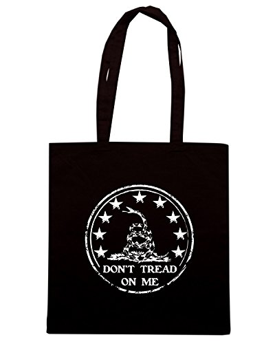 T-Shirtshock - Borsa Shopping TM0665 dont tread on me Nero