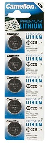 Preisvergleich Produktbild Camelion 59802 Pack 5 Batterien Lithium Universal 3 V 170 mAH 2025