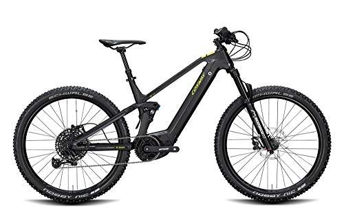 ConWay Xyron 327 Herren E-Bike 625Wh Fully E-Mountainbike Elektrofahrrad Black matt/Shadow Grey 2020 RH 49 cm / 27,5 Zoll