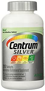 Centrum Silver Adults 50+ Multivitamin Multimineral Suppliment - 285 Tablests