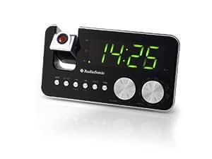 AudioSonic CL-1484 Uhrenradio silber