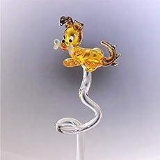 3 Stück Orchideenstab aus Glas mit 2 Halterungen 40cm Duranglas Top Qualität !