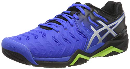 ASICS Gel-Resolution 7, Scarpe da Tennis Uomo, Blu (Illusion Blue/Silver 407), 42.5 EU
