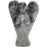 Humunize Glaube Heilendes Spirituelles Edelstein Wächter Pyrit Stein gemeißelt Engel Stein, Feng Shui Geschenk... preisvergleich bei billige-tabletten.eu