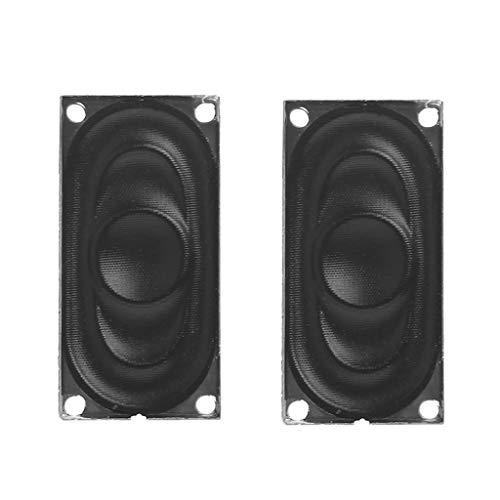 GROOMY 1 Paar Mini-Audio-Lautsprecher 2040 8Ohm 2W für Notebook-Computer-Lautsprecher Portable
