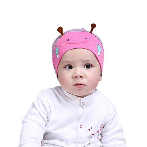 Junge Baseball Kostüm - Tonsee Baby Kind Jungen Mädchen Biene Baskenmütze Baseball Mütze (hot pink)