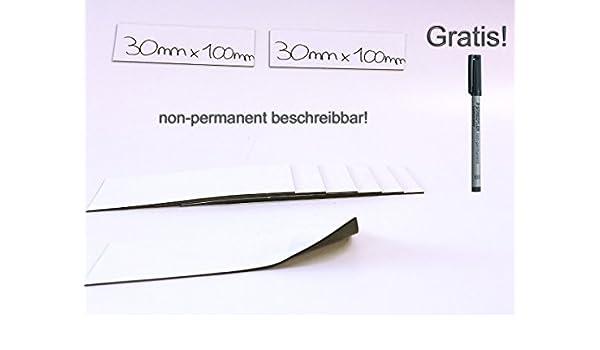 roh selbstklebend 4 Stück Magnetfolie 0,9mm x 100mm x 100mm Magnetfolien