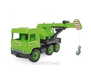 Tigres 32102 - Grúa para camión en Caja de cartón, Color Verde, Talla única
