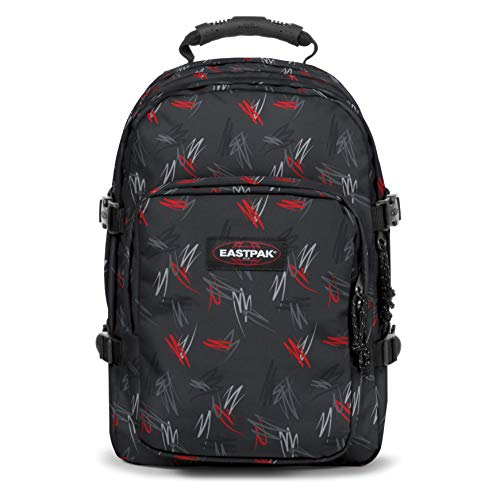 Eastpak PROVIDER Zaino Casual, 44 cm, 33 liters, Multicolore (Scribble Black)