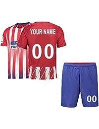 sneakers for cheap c9627 7ec6f Camiseta de fútbol Personalizada y Pantalones Cortos 2018-2019 Nueva  Temporada, Clubes del Equipo